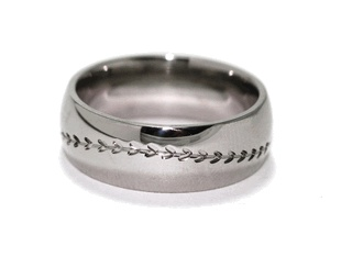 Titanium Baseball Ring