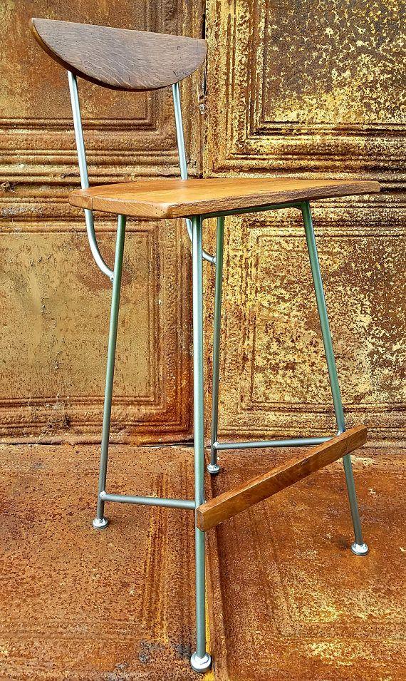 Modern Rustic Counter Stool
