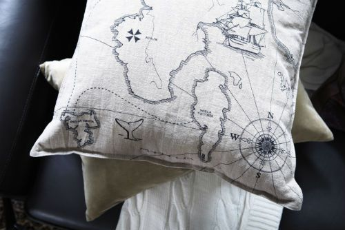 IKEA Fan Favorite: BENZY LAND cushion. Add a little adventure to your life with this playful pillow.
