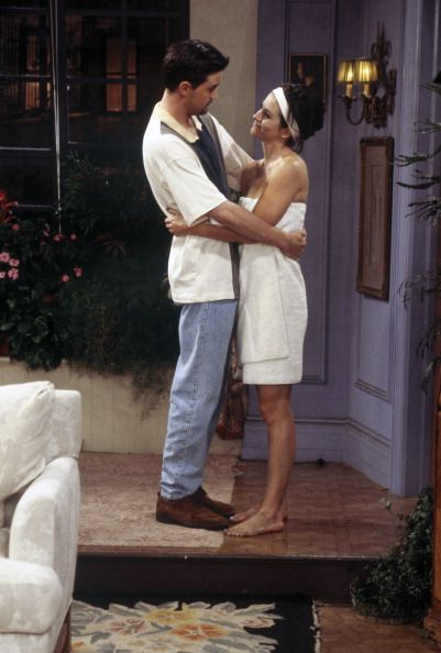 Monica and Chandler ~ Friends ~ Episode Scenes ~ Season 3, Episode 6 ~ The One with the Flashback