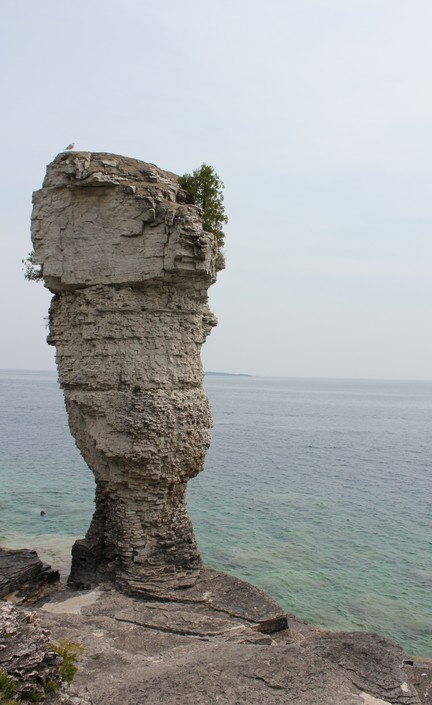 Flower Pot Island off of Georgian Bay