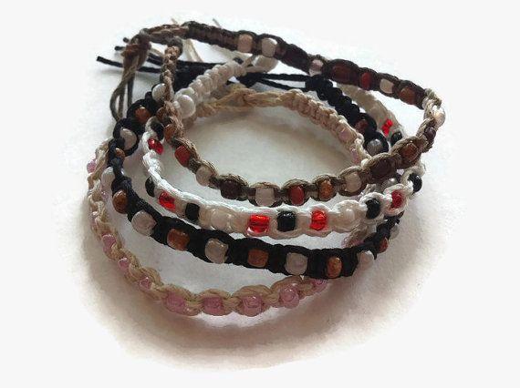 """I added """"Brown friendship bracelet shamballa by LittleFlowe"""" to an #inlinkz linkup!https://www.etsy.com/listing/224542642/brown-friendship-bracelet-shamballa?ref=shop_home_active_3"""