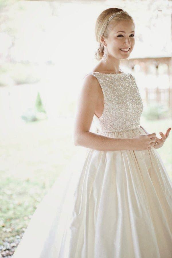 Senhora Inspiração! Blog: Vestido de Noiva ♡ Estilo Frente Única