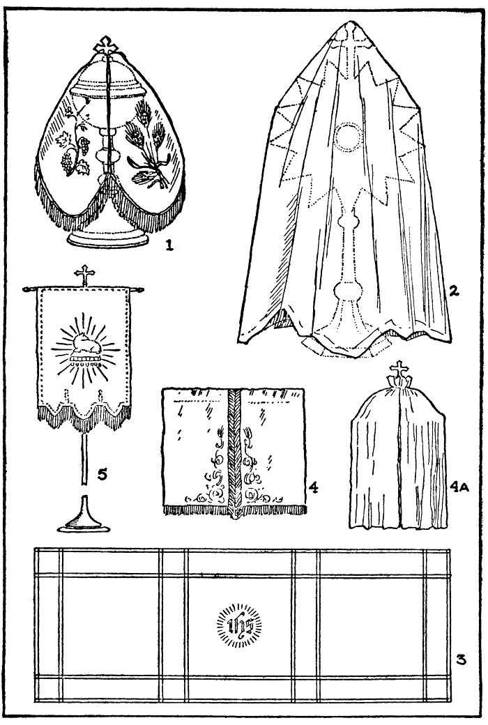 D. SACRED VEILS AND COVERINGS. - Sacristan's Manual for the Extraordinary Form - SanctaMissa.org