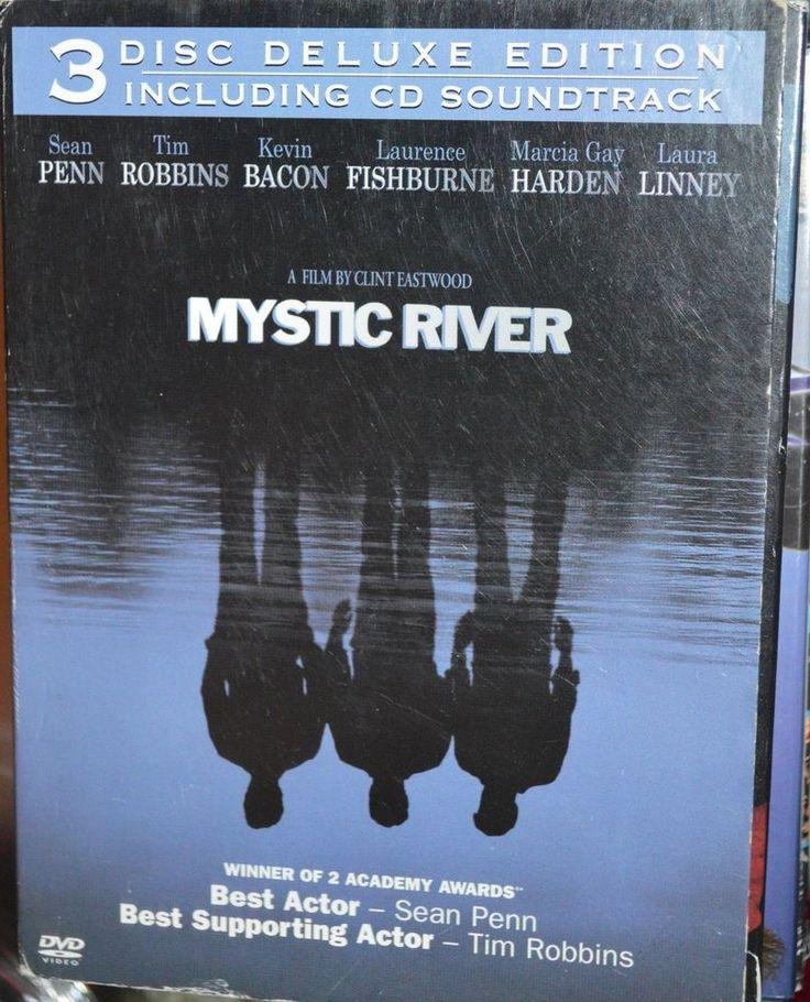 MYSTIC RIVER 2 DVD + CD A CLINT EASTWOOD FILM SEAN PENN TIM ROBBINS KEVIN BEACON