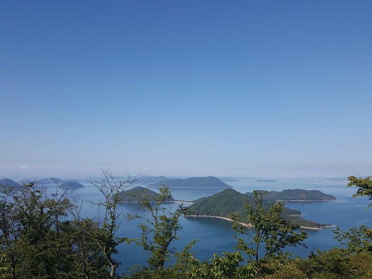 Mt.Shiude. Kagawa Japan.