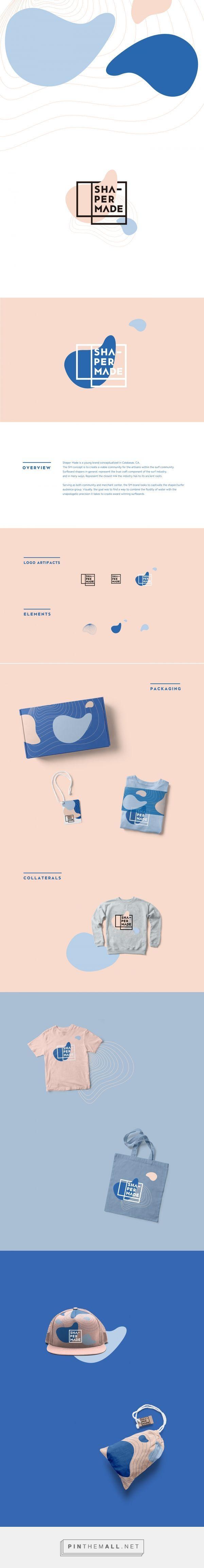 Shaper Made Branding by Mint Li on Behance | Fivestar Branding – Design and…