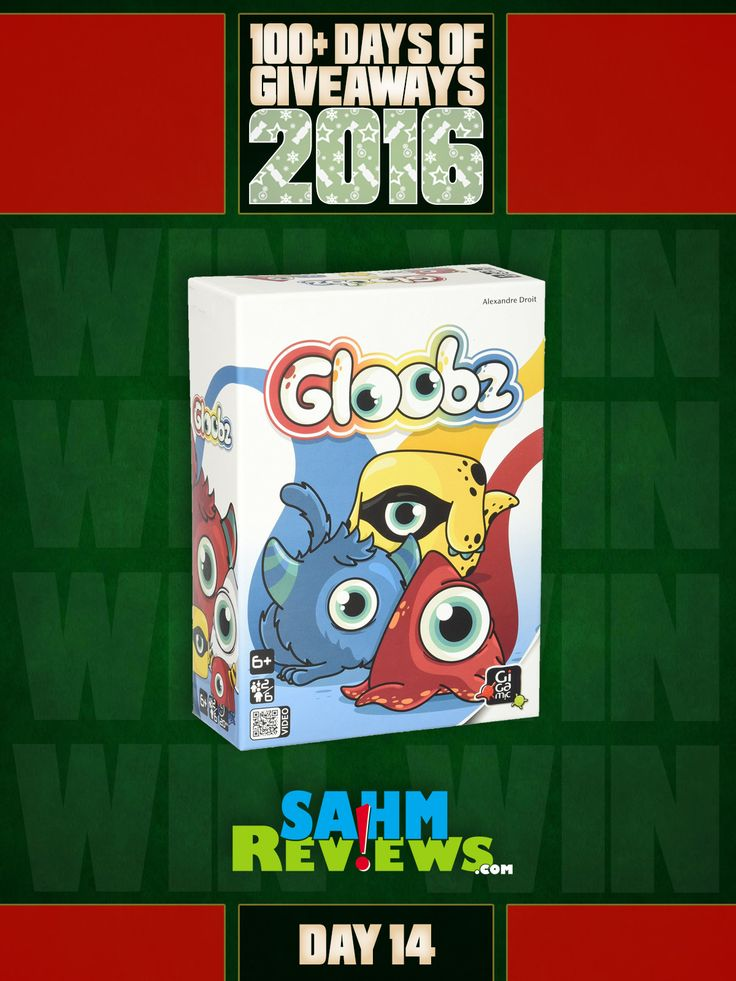 Gigamic's Gloobz has become a staple in our kids' game bag. Now you can win your own copy in our 100+ Days of Giveaways!