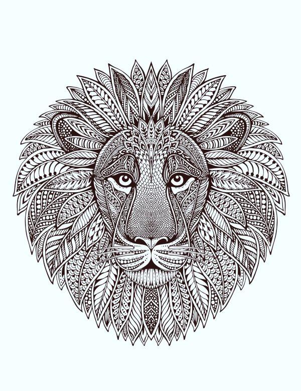 40 Printable Mandala Patterns for Many Uses | Lion ...