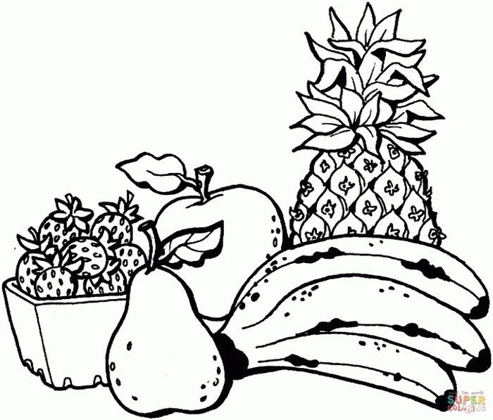 Banana Split Bowl Coloring Pages From Banana Coloring Pages There