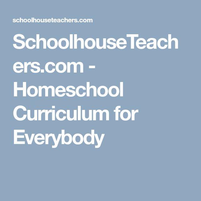 24 best homeschool planning and organization images on pinterest schoolhouseteachers homeschool curriculum for everybody fandeluxe Images