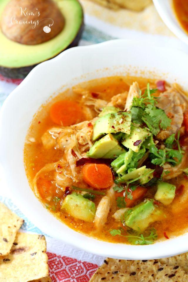 ... Tortilla Al Pollo su Pinterest | Zuppe, Tortillas e Ricette Di Zuppe