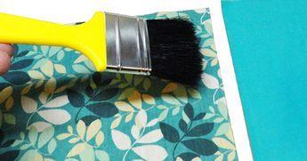 Você gostaria de saber como impermeabilizar tecido? Pois tem que ver essa dica do artesão Thiago Silva que você pode fazer em casa, gastando muito pouco...Como fazer termolina caeeira