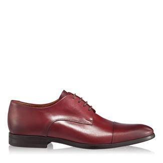 Pantofi barbati bordo 2874 piele naturala