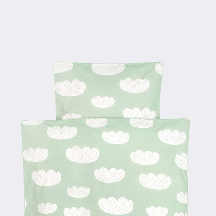Cloud Bedding in Mint design by Ferm Living