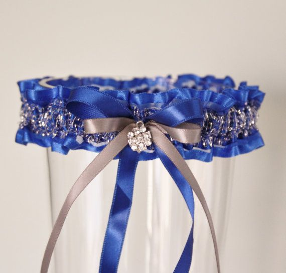 $23.00 Royal blue garter