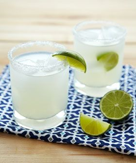 The Perfect Margarita  2 oz Tequila 1 oz fresh lime 3/4 oz Triple Sec 1 tsp simple syrup (1:1 sugar to water)