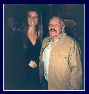"Godfather of the magazine ""Paul L.A. journalism"", José Luis Cuevas & Patty Aguirre."