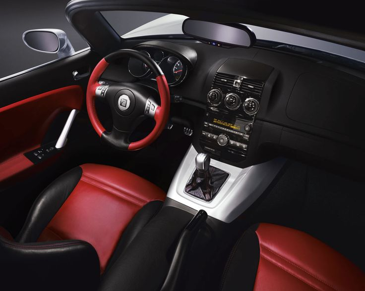 Saturn Sky interior. Shame they don't make these anymore!