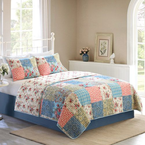17 best bedding images on Pinterest | Bedrooms, Better homes and ... : home and garden quilts - Adamdwight.com