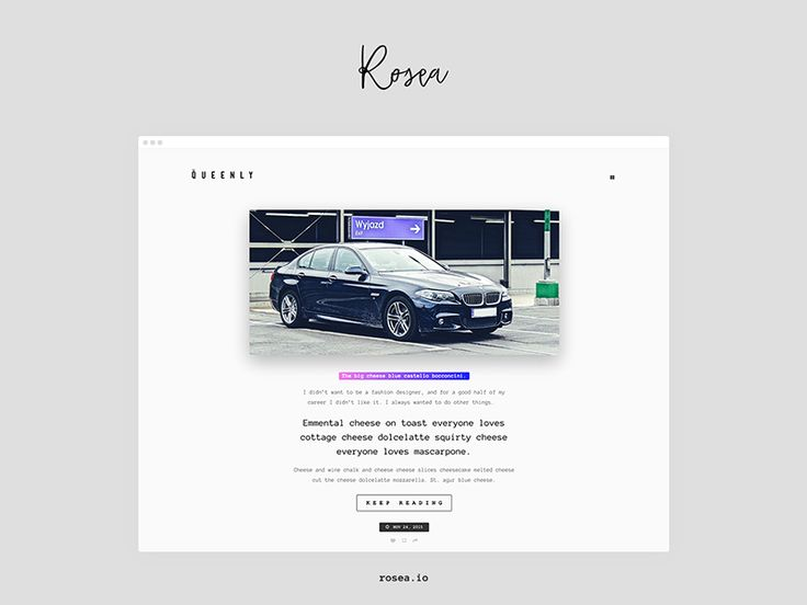 Queenly Blogging Tumblr Theme by Marcin Czaja  #tumblr #theme #webdesign #ui #mobile #photographer #photography #portfolio #inspire #gallery #themeforest