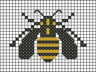 Another little bee example ♥.