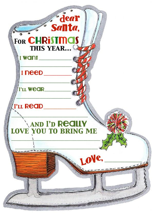 Santa's Waiting For Your List! Free Printable Fun at Skater's Choice. Just click on this image and you will go to Skater's Choice Printable Fun Page. Click the image and print!