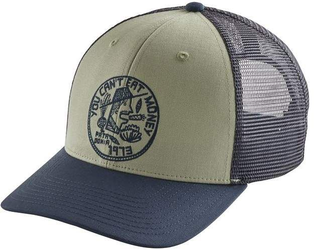 Patagonia Can T Eat Money Trucker Hat Hats Mens Trucker Hat Hats Vintage