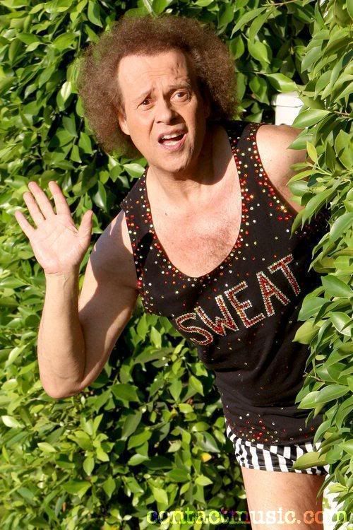 Richard Simmons (product launch and book publicity)