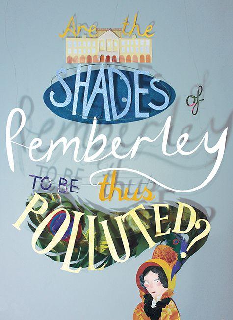 Pride and Prejudice - Kate Slater Illustration