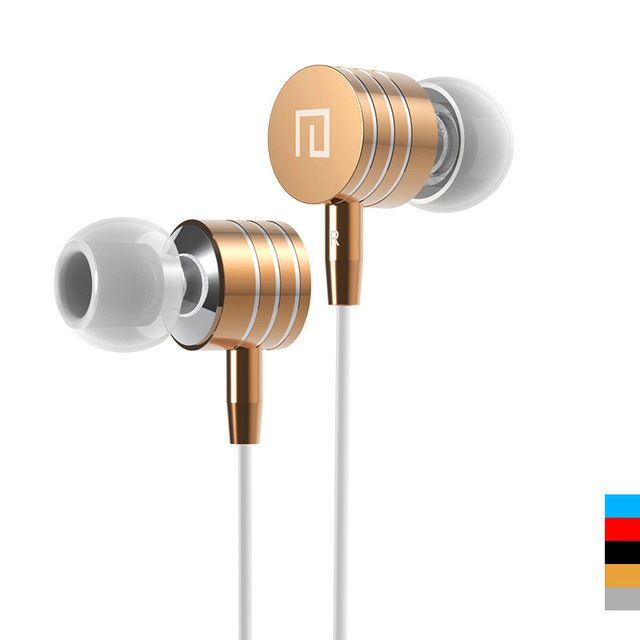 All compatible Metal Stereo Bass in-ear earphone Headphone Headset With Mic Vol +/- for iphone 5S 6 Samsung HTC Xiaomi MP3 MP4