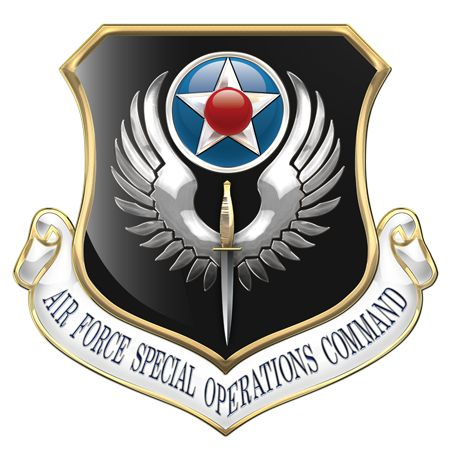 Military Insignia 3D: Air Force Special Operations Command (AFSOC)