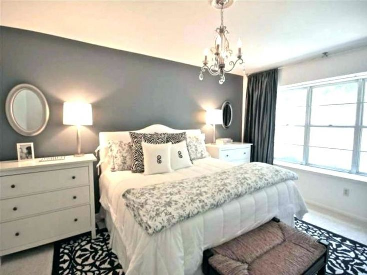 blue accent wall bedroom ideas in 2020  bedroom wall