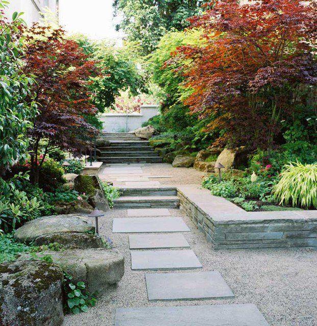 Atlanta Landscape Designer On Pinterest: Asian Garden Retaining Wall - Google Zoeken