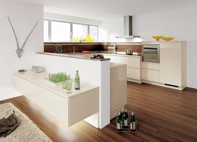 Meubles suspendus pour #cuisine #design par @ALNO UK