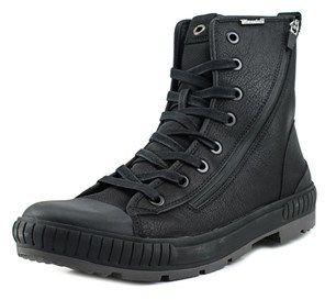 Aldo Sanbourne Men Round Toe Leather Black Boot.
