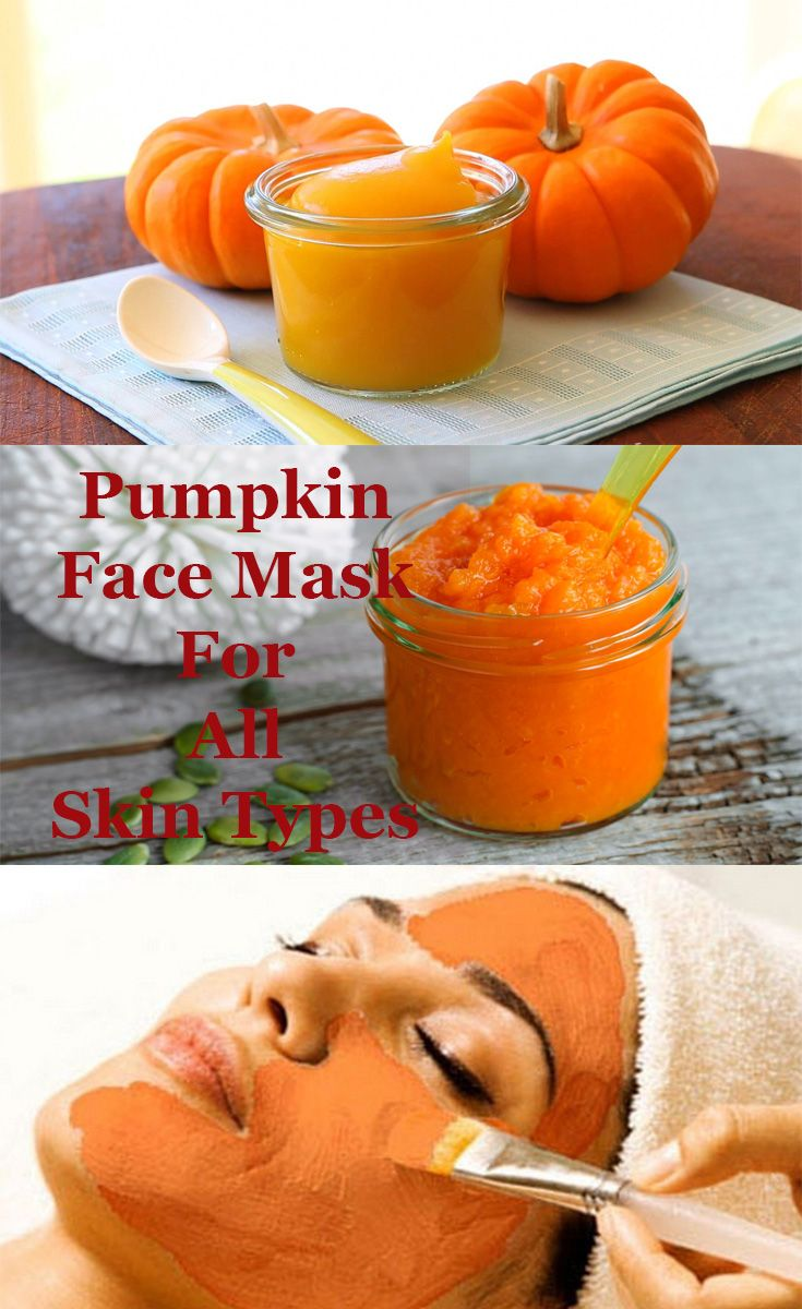 There is no need to buy expensive face masks when you can make your own awesome mask by using pumpkin.