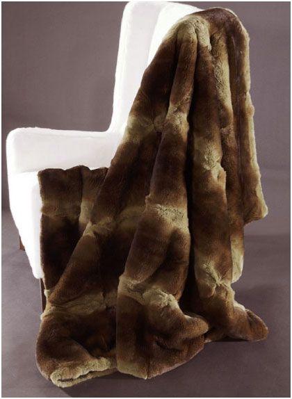Меховой плед из меха Орилаг