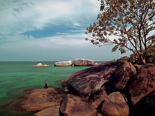 Belitung Island. Location : Belitung Island - Bangka Belitung - South Sumatra