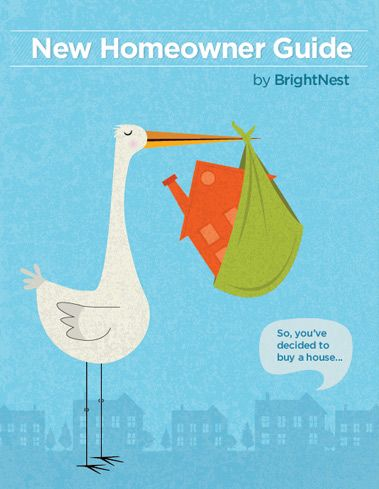 The New Homeowner Guide. Visit @BrightNest for more home maintenance tips and tricks!