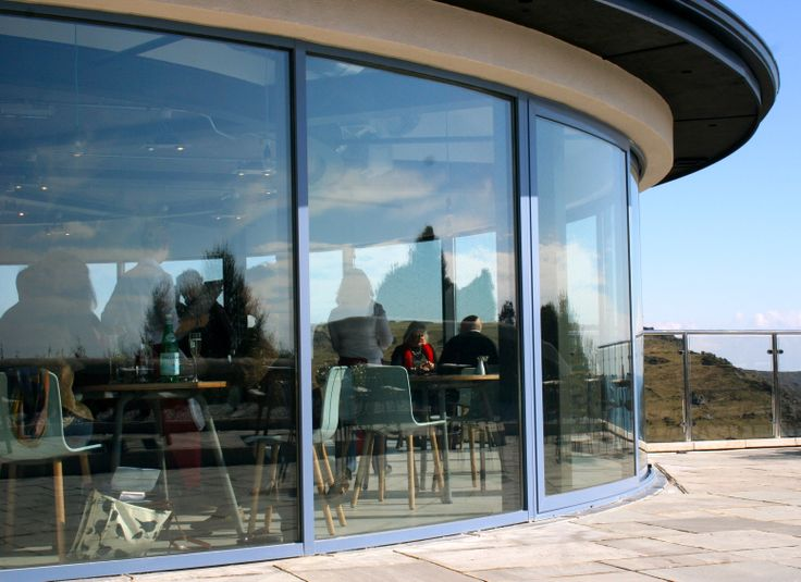 Case Study: Stunning views from Balcony Systems' curved sliding patio doors at Gara Rock resort in South Devon.  Read more here: http://www.balconette.co.uk/blog/index.php/curved-patio-doors-at-gara-rock-resort/