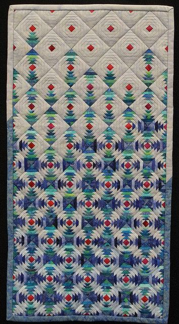 Kathy Grimson Effervesce Quilt exhibit at Manawatu Quilt Conference in Palmerston North, New Zealand. Jan 2015.