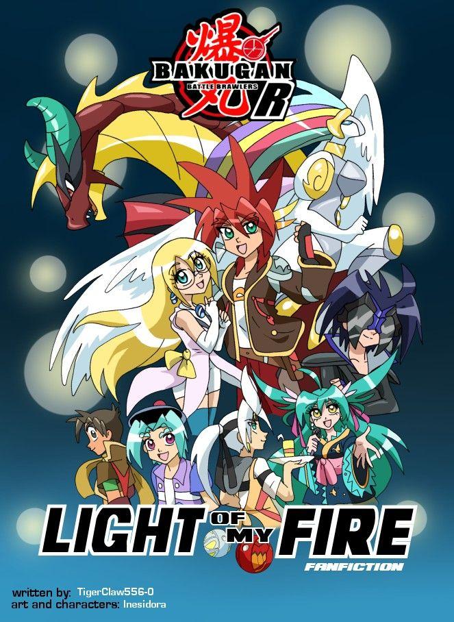 BakuganR Light of my Fire Comic books, Comics, Anime art