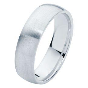 Simple yet elegant. A classic men's wedding ring with a matte finish. www.larsenjewellery.com.au