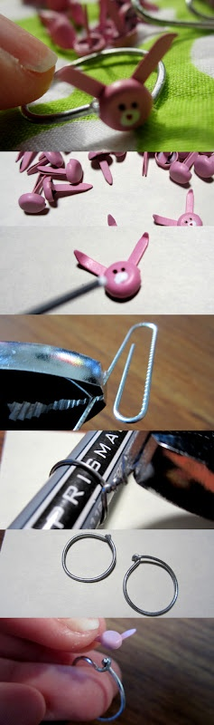 32 best office supply crafts images on pinterest boyfriends eye easter gifts from office supplies diy shades of tangerine negle Images