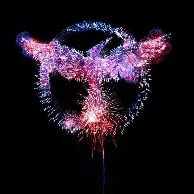 Hunger Games fireworks