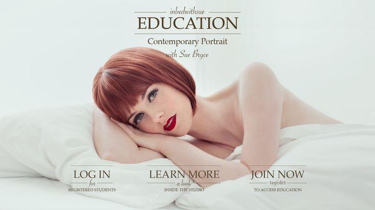 Sue Bryce Portrait - Australian portrait of the year | tutorial vids