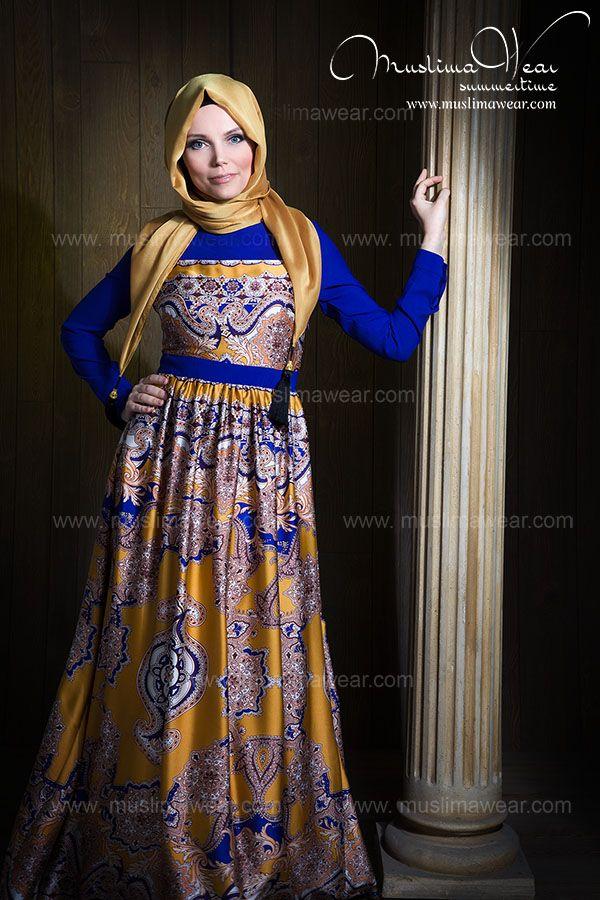 Hijab Style by Muslima Wear www.muslimawear.com