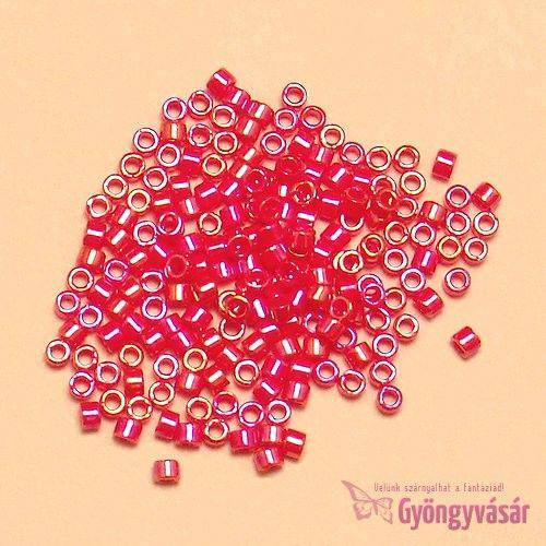 DB0159 - Piros AB japán Miyuki delica gyöngy, 11/0 (1 g) • Gyöngyvásár.hu