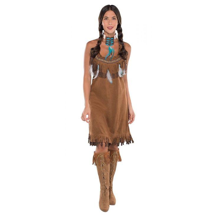 indian costume adult princess pocahontas halloween fancy dress - Halloween Native American Costumes